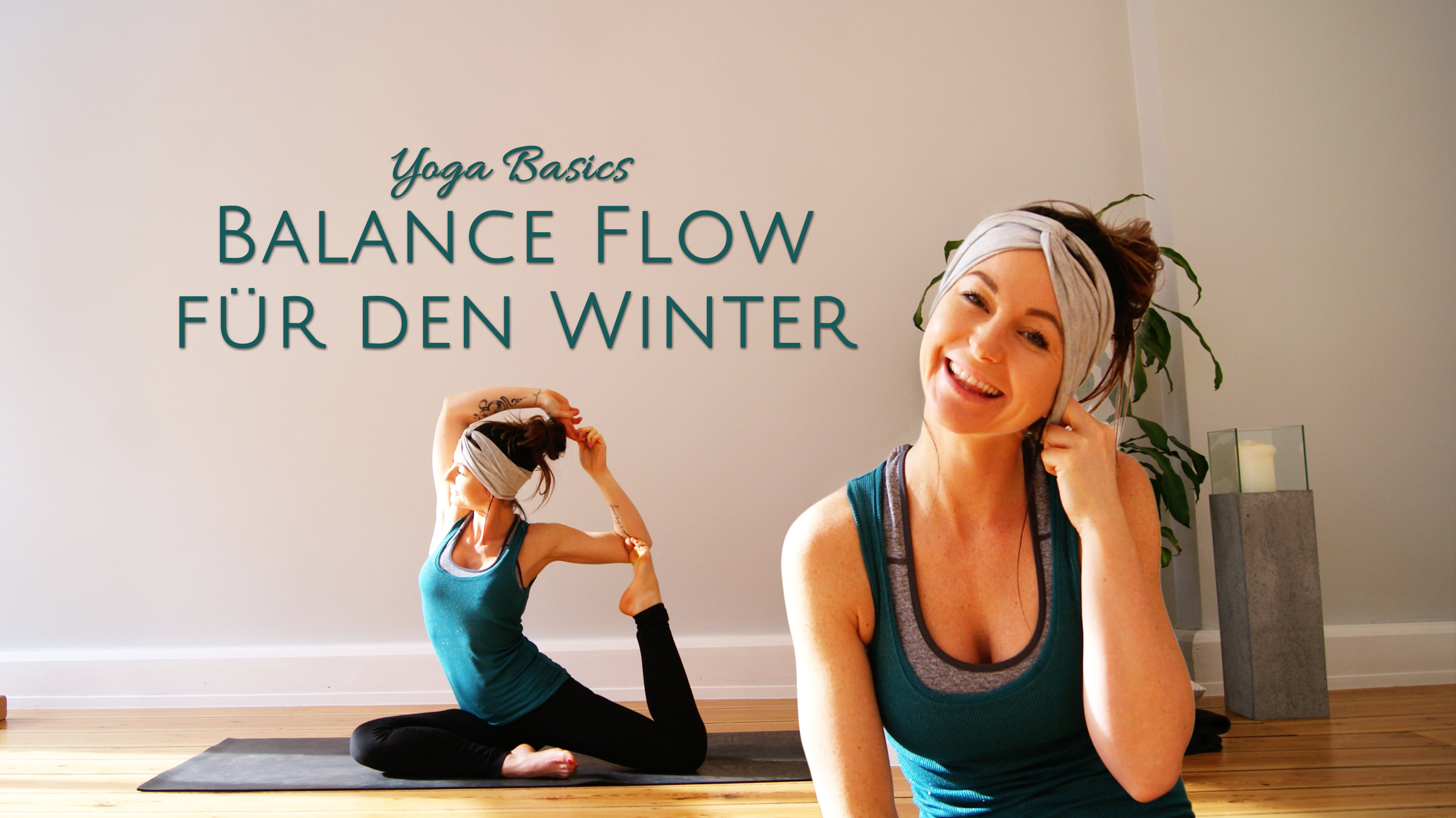40 Minuten Balance Flow | Yoga Basics