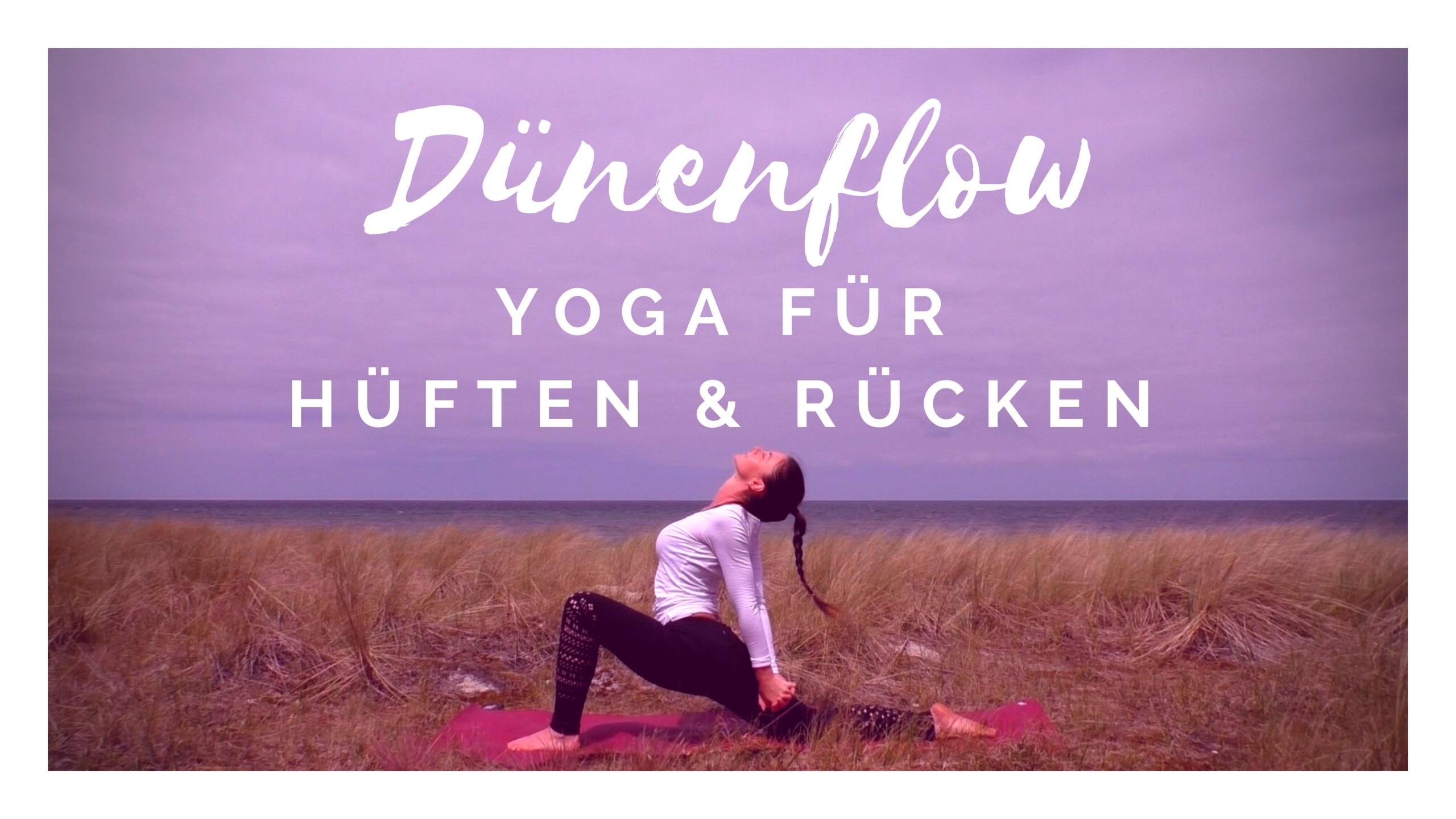 Dünenflow │ Yoga für Anfänger │ 30 Minuten │Yoga für Rücken & Hüften│ deutsch