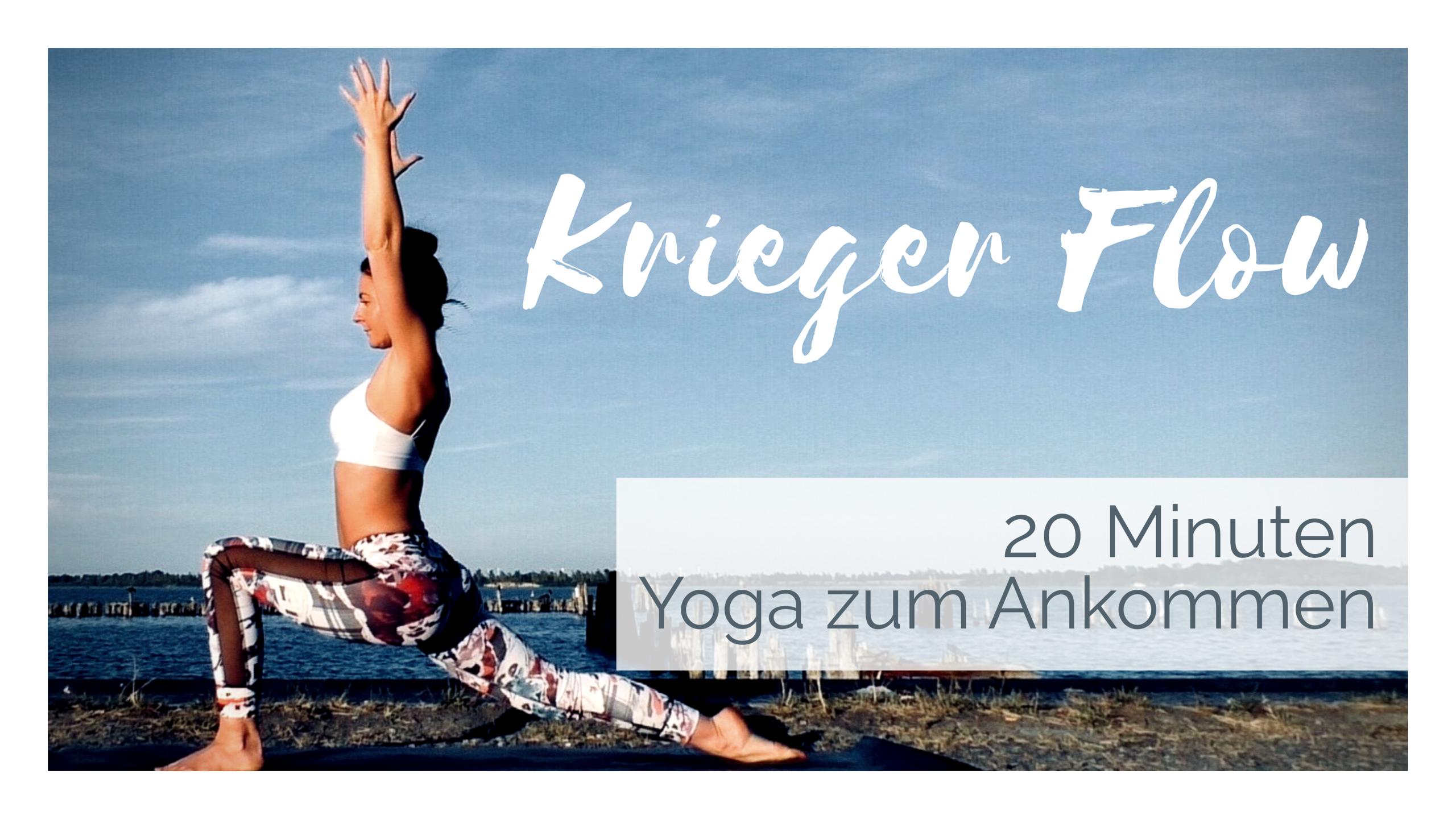 Dynamischer Krieger Flow │Vinyasa Flow Yoga für Anfänger │25Minuten │Yogazum Ankommen
