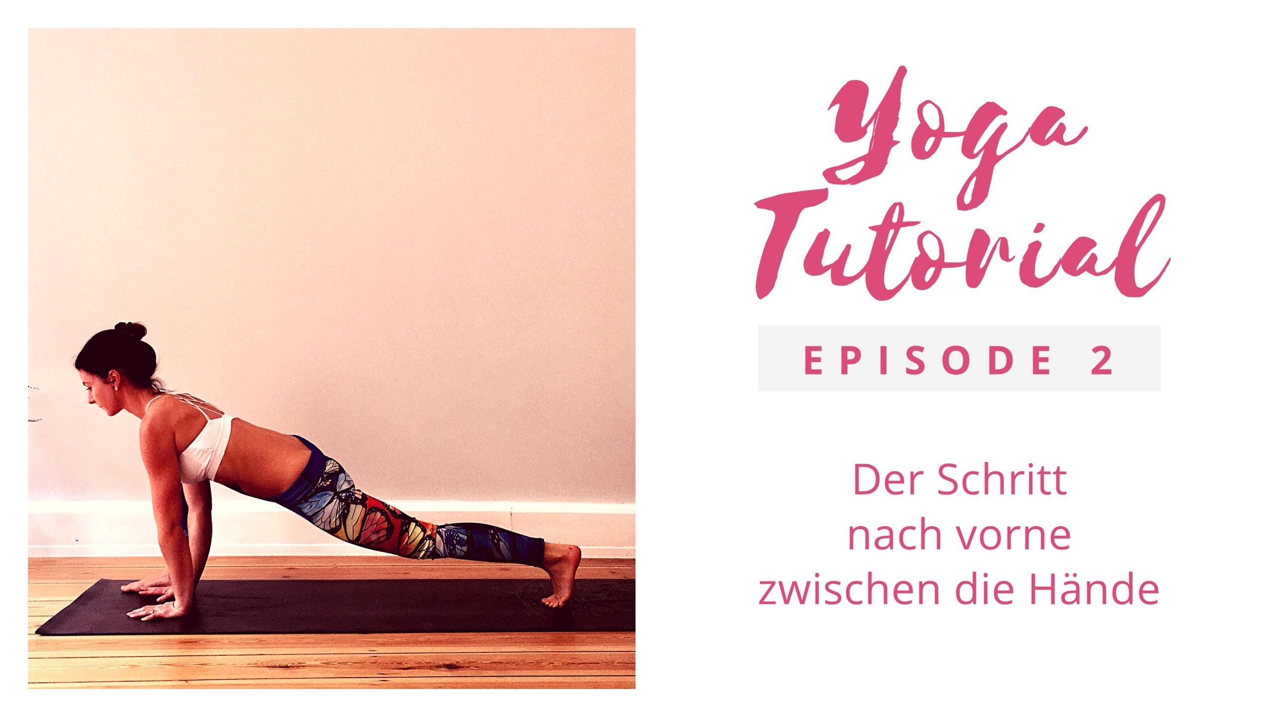 Yoga Tutorial 2│ Yoga für Anfänger │Alignment │der Schritt nach vorne zu den Händen