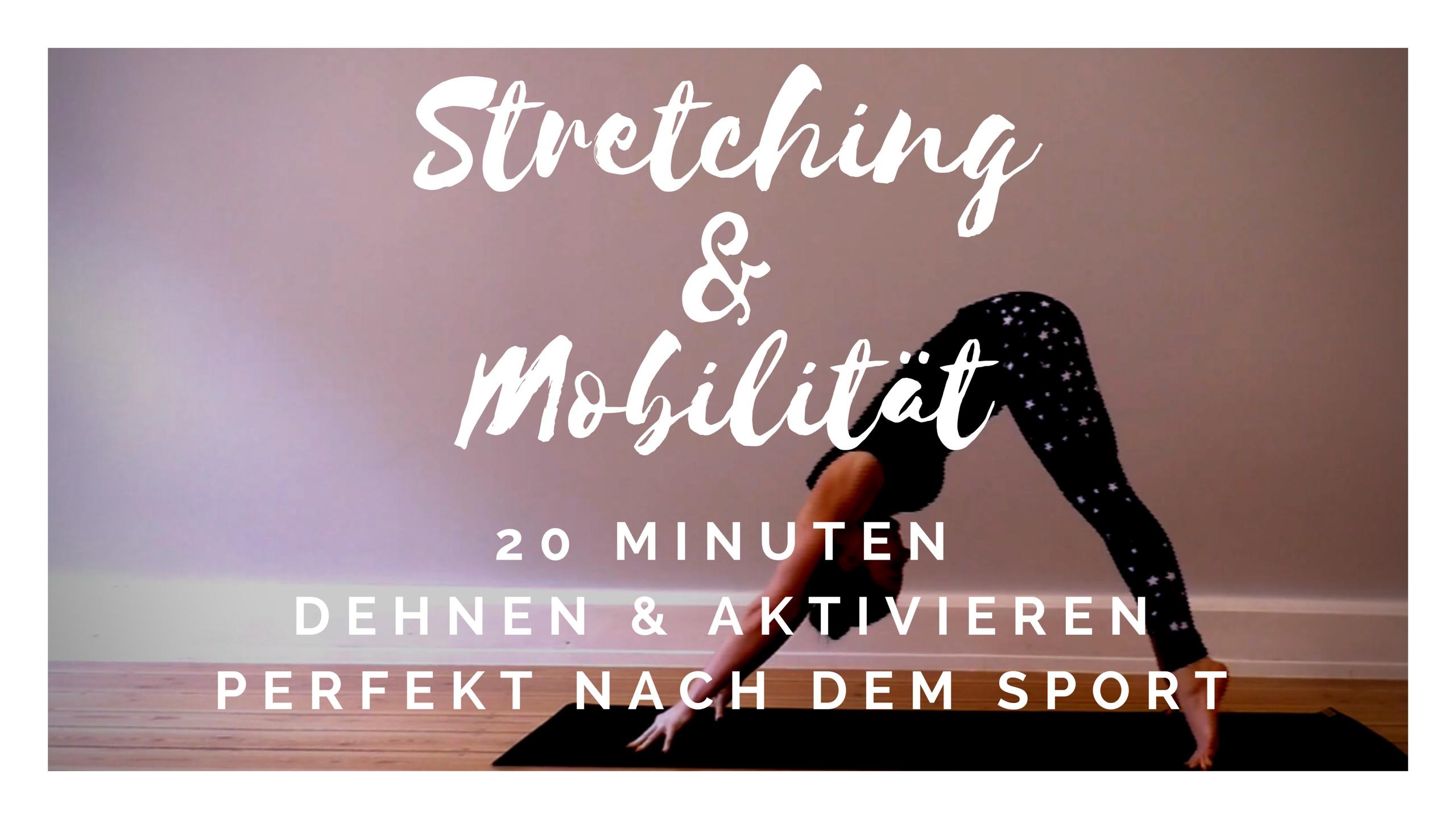 Stretching & Mobilität │20 Minuten│Dehnen & Mobilisieren│perfekt nach dem Sport