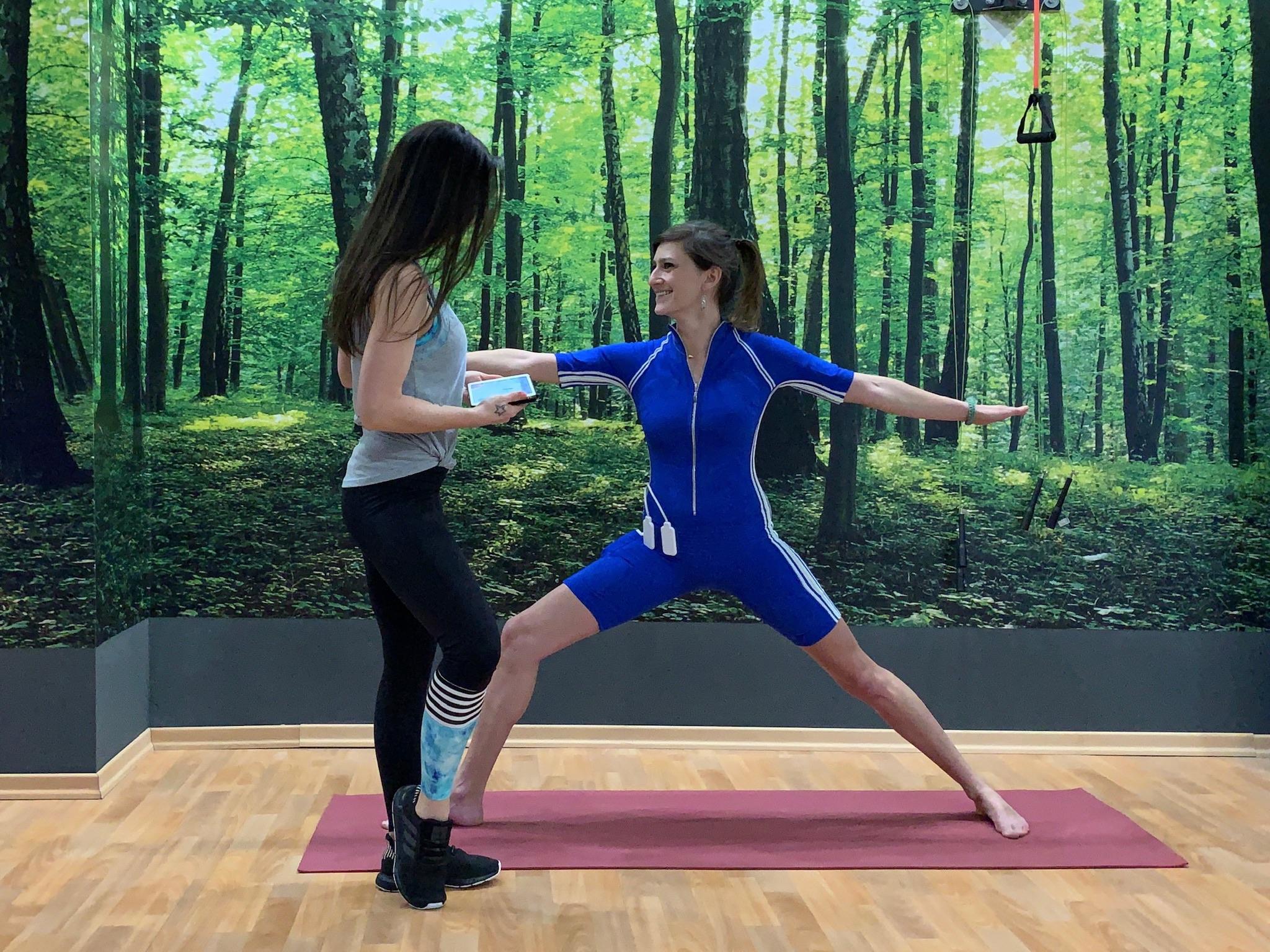 EMS Training als Ergänzung zum Yoga