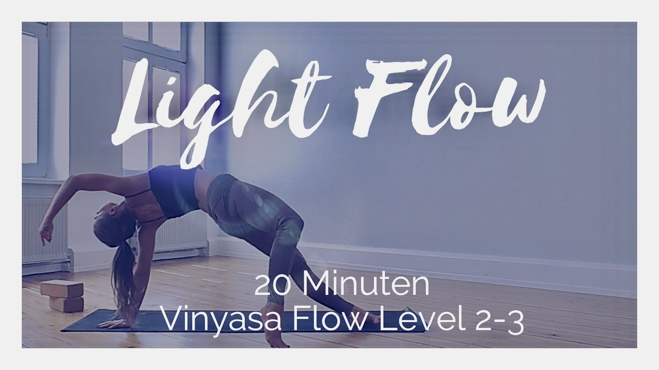 Light Flow Vinyasa Level 2-3